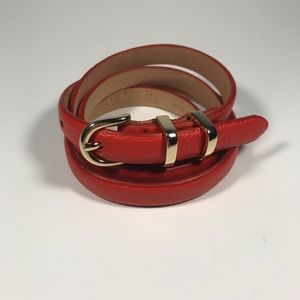 Brooks Brothers Red Leather Belt